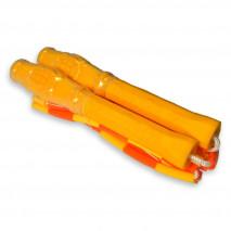 Детская бисерная скакалка Hexagon Junior Orange Yellow