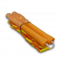 Бисерная скакалка Hexagon Orange-Yellow