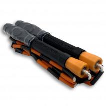 Бисерная скакалка Hexagon PRO Black-Orange